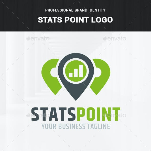 Stats Point Logo Template