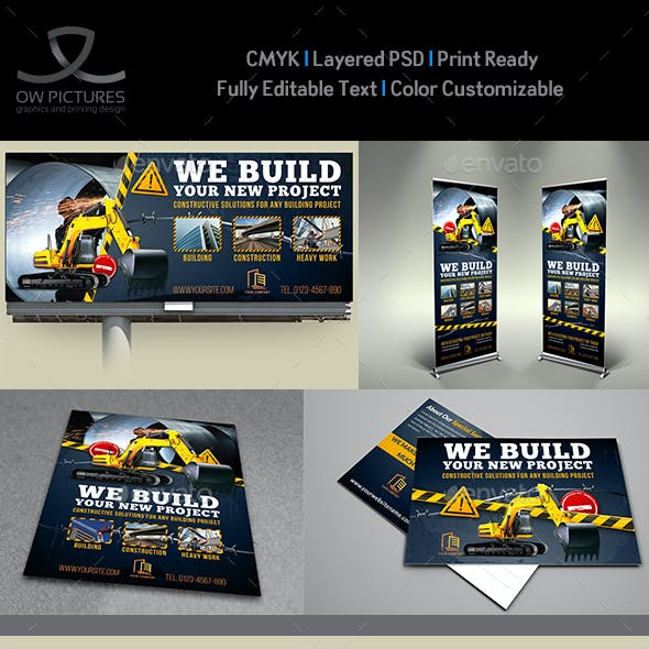 Construction Advertising Bundle Vol.6