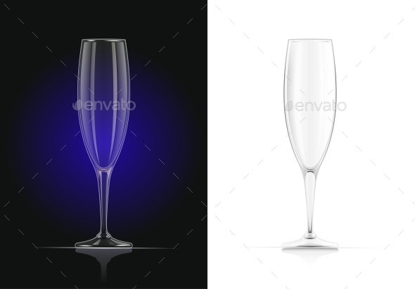 Champagne Glass - Man-made Objects Objects