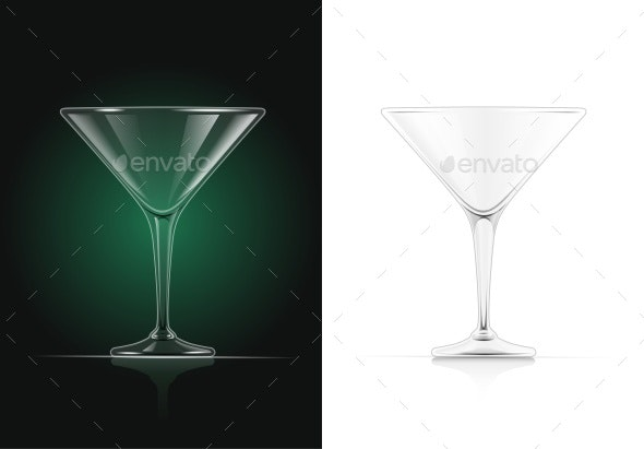 Martini Glass - Food Objects