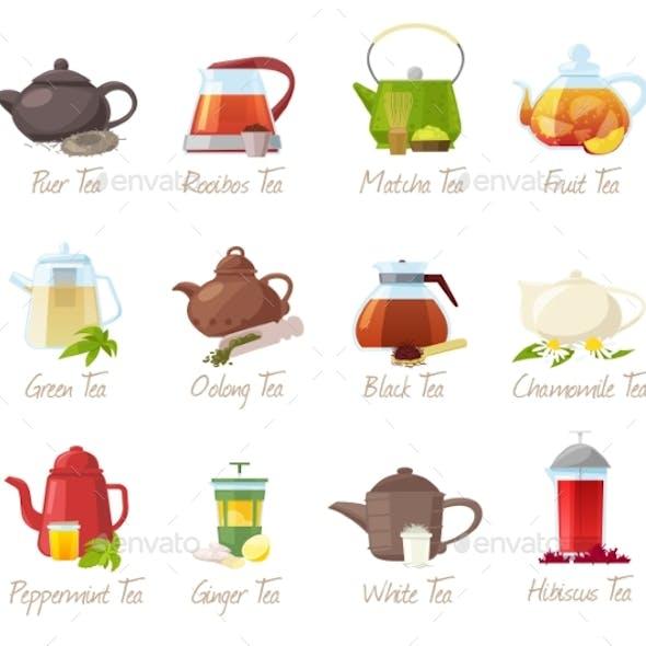 Tea Vectors