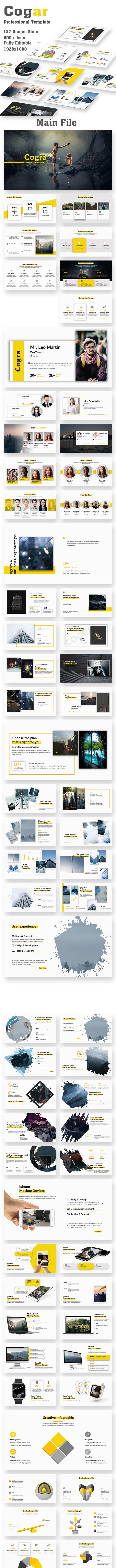 Cogra Professional PowerPoint Template - Creative PowerPoint Templates