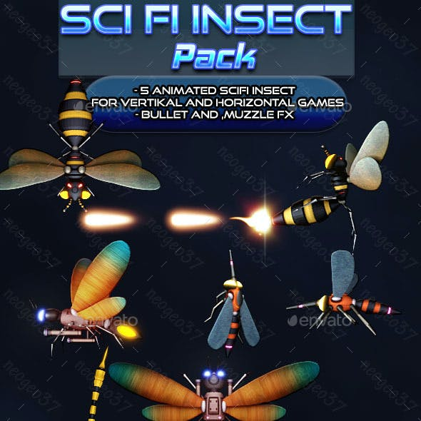 Scifi Insect Pack