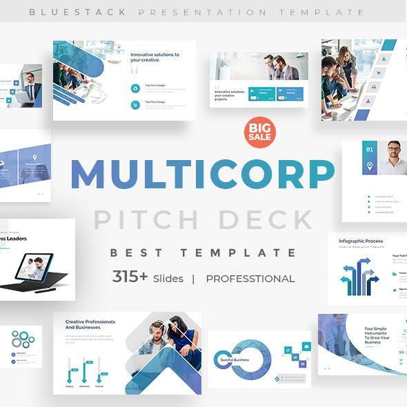 MultiCorp Pitch Deck Google Slide Template