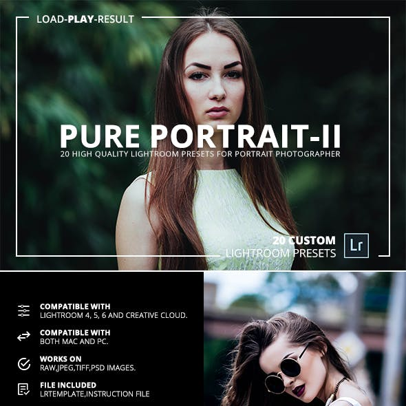 Pure Portrait (V.2) Lightroom Presets