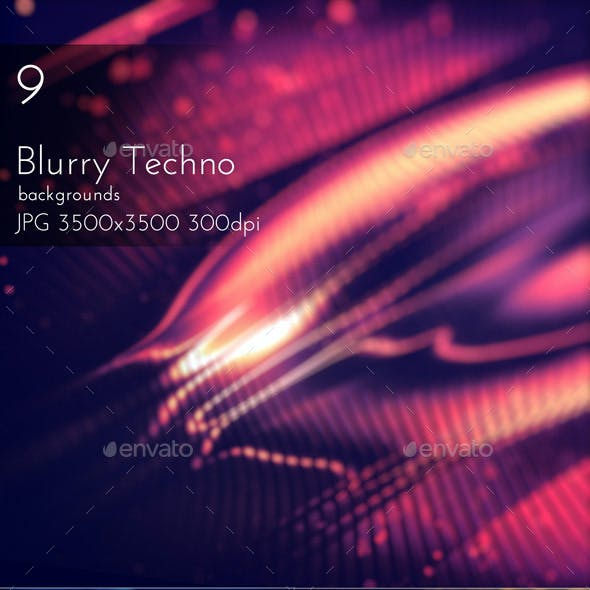 Blurred Techno Backgrounds