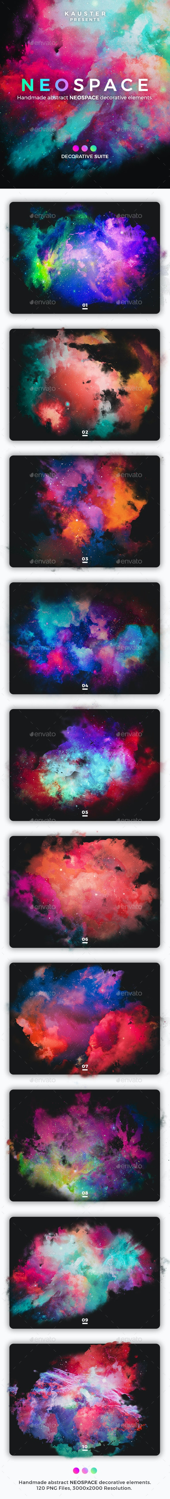 Neospace Decorative Suite - Abstract Backgrounds