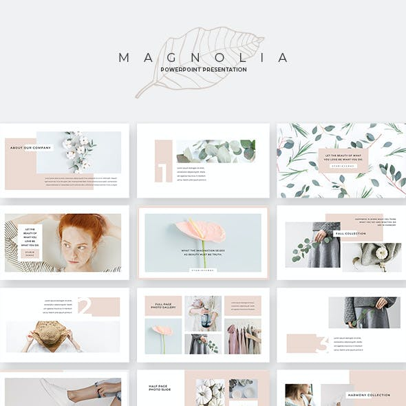 Magnolia PowerPoint Template