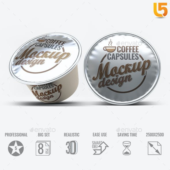 Coffee Capsules Mock-Up