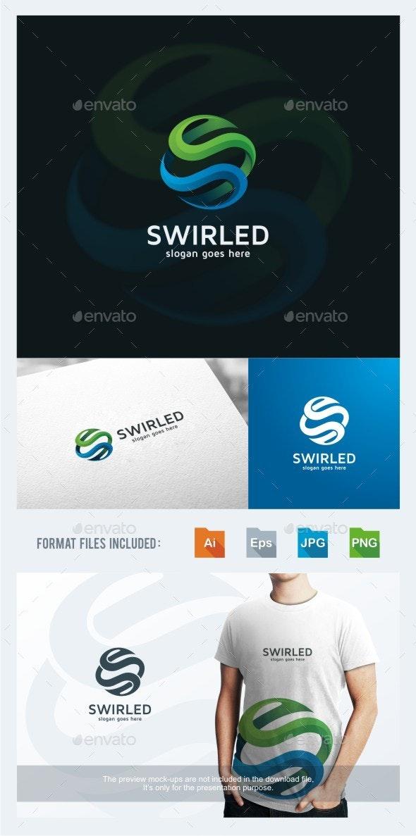 Swirled - Letter S Logo Template