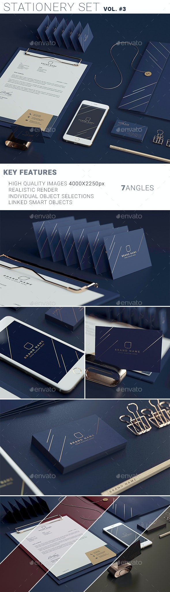 Stationary Branding Mockup vol.3