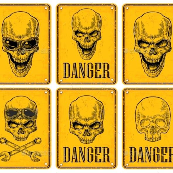 Skulls Danger Signs