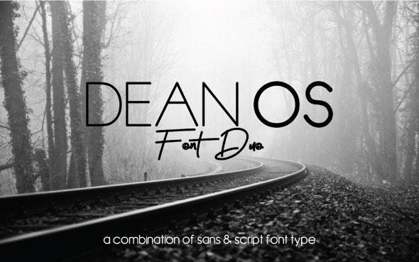 Dean Os Font Duo - Fonts