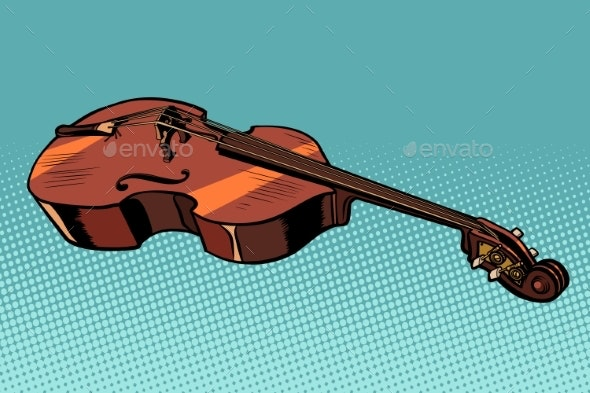 Viola Musical Instrument - Man-made Objects Objects