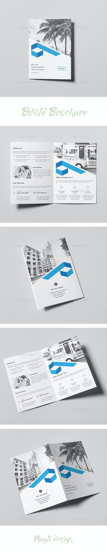 Bifold Brochure Template - Corporate Brochures