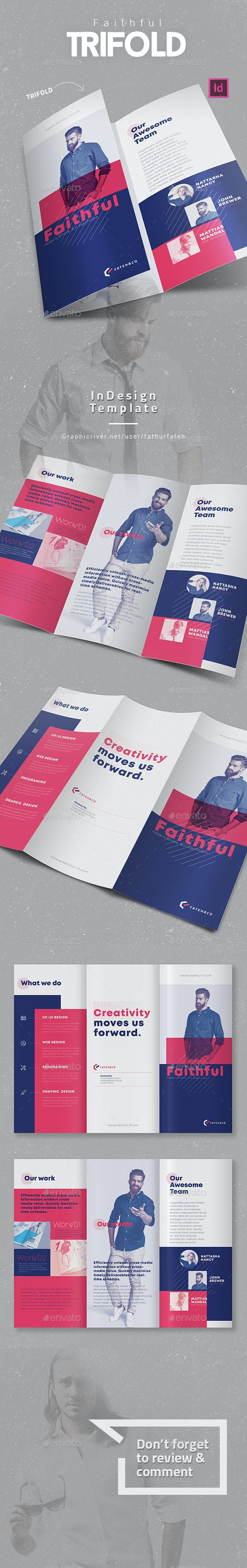 Faithful Trifold - Corporate Brochures