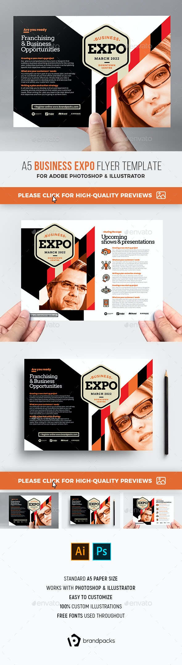 Business Expo Flyer Template - Corporate Flyers