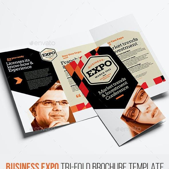 Business Expo Tri-Fold Brochure