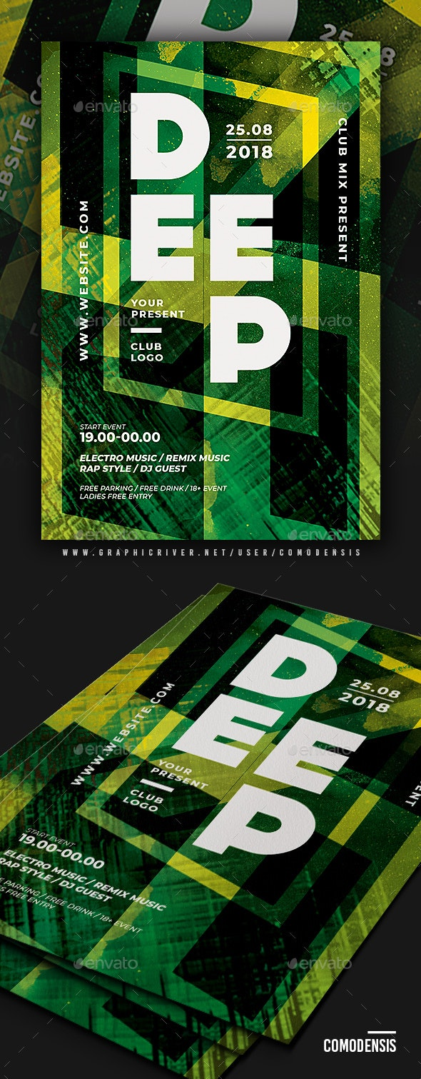 Club Party Flyer Templates - Clubs & Parties Events