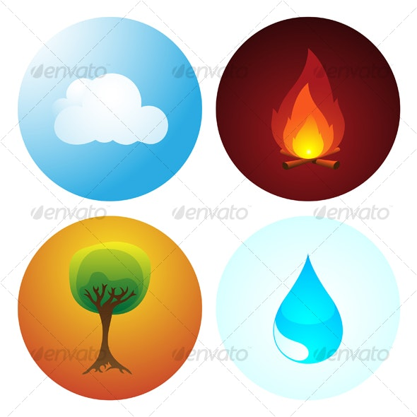 Four Elements - Nature Conceptual