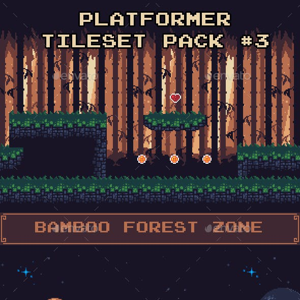Platformer Tileset Pack #3