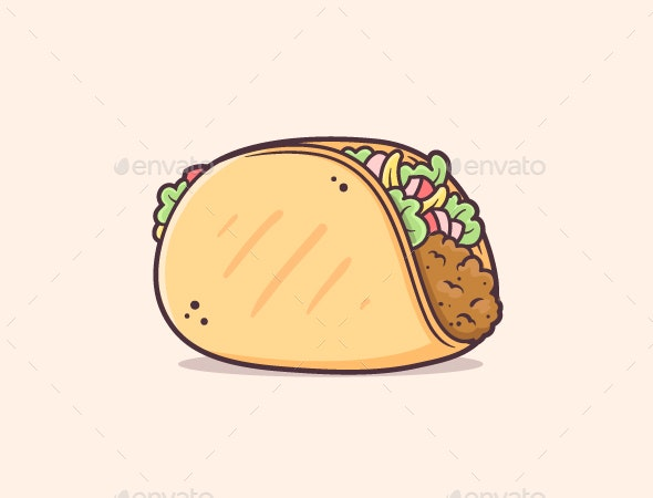 Taco - Food Objects