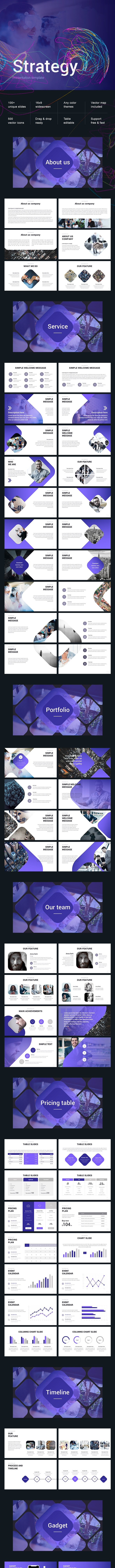 Business Strategy Powerpoint - Business PowerPoint Templates