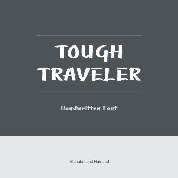 Tough Traveler Font