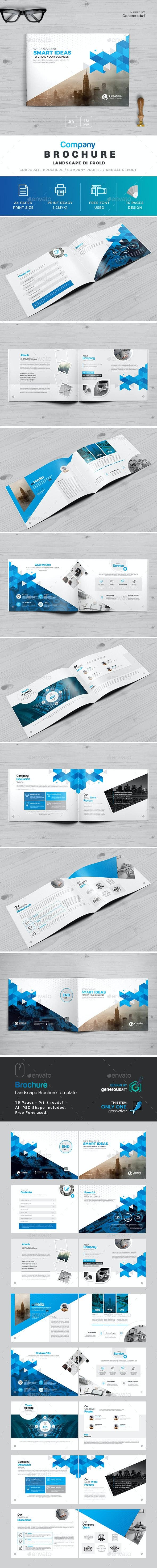 Business Landscape Brochure - Corporate Brochures