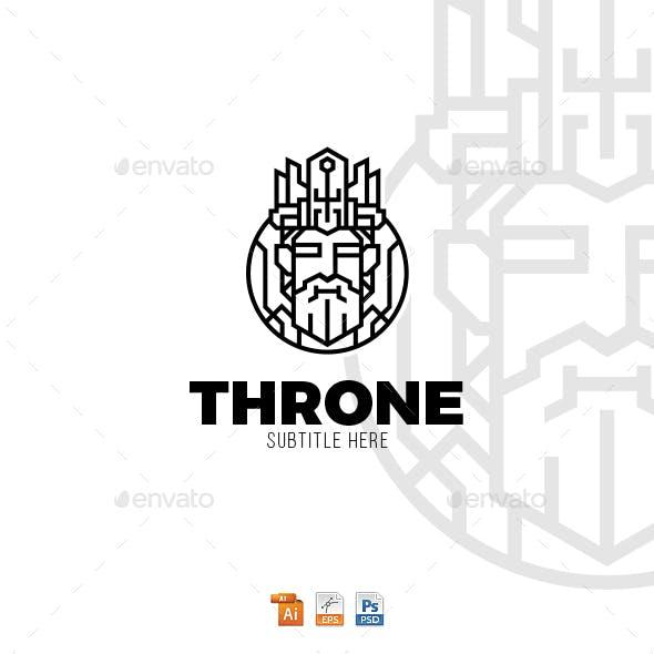 King Throne Logo