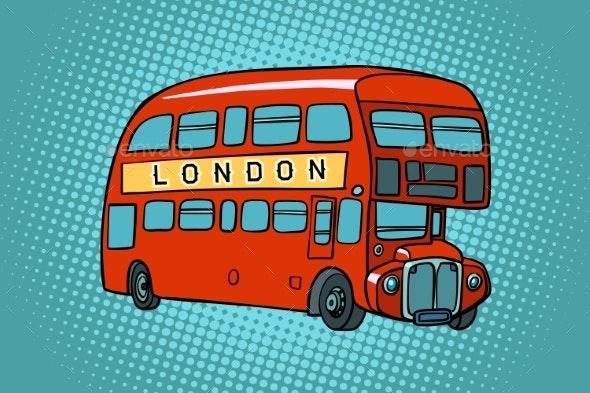 London Double Decker Bus - Miscellaneous Vectors