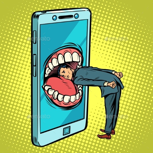 Dangerous Phone Look Online and the Internet - Web Technology
