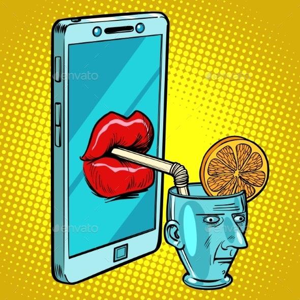 Smartphone Drinks Human Brain - Computers Technology