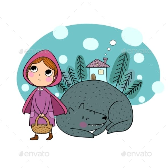 Little Red Riding Hood Fairy Tale