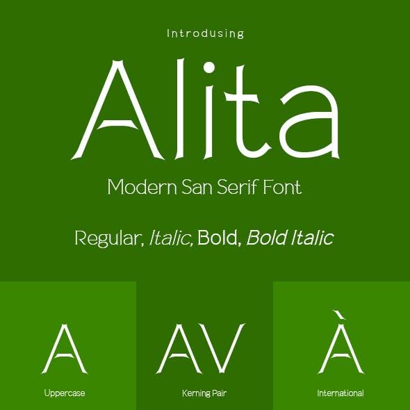 Alita Typeface
