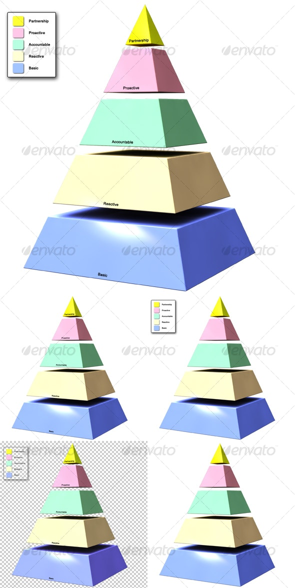 Pyramid - Miscellaneous 3D Renders