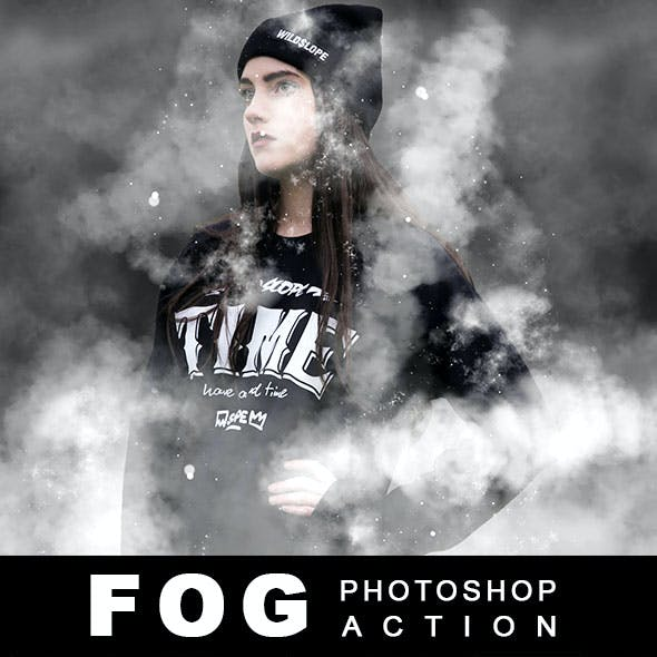 Fog Effect Photoshop Action
