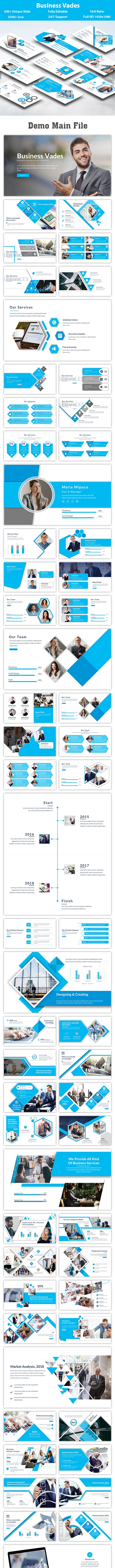 Business Vades PowerPoint Template - Creative PowerPoint Templates