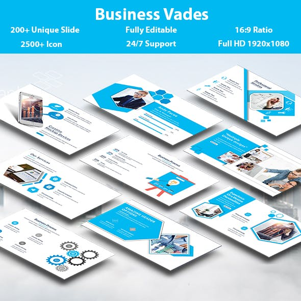 Business Vades PowerPoint Template