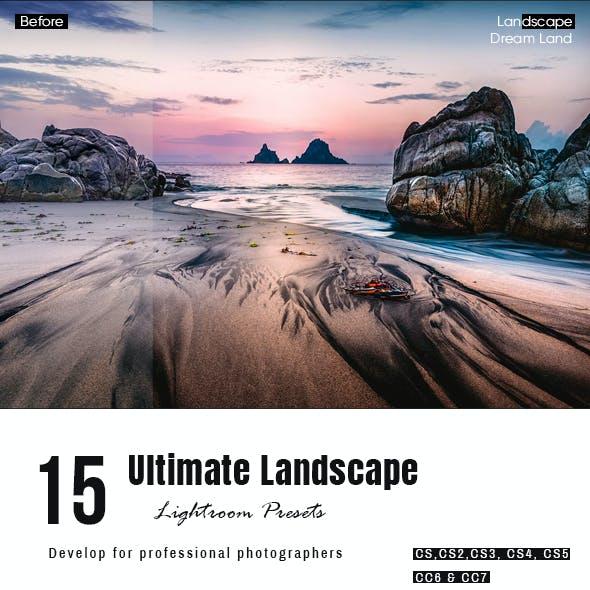15 Ultimate Landscape Effect Presets