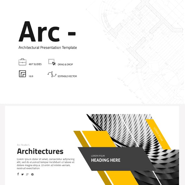 Arc - Architecture Google Slides