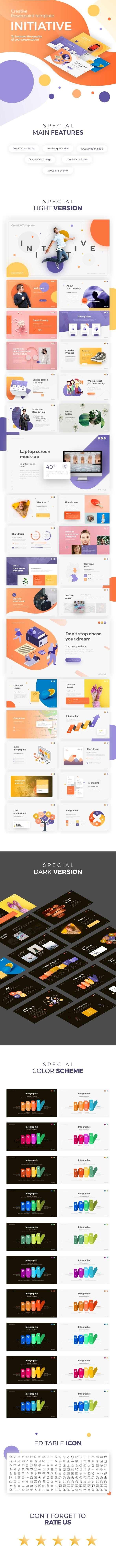 Initiative - Creative Presentation - Creative PowerPoint Templates