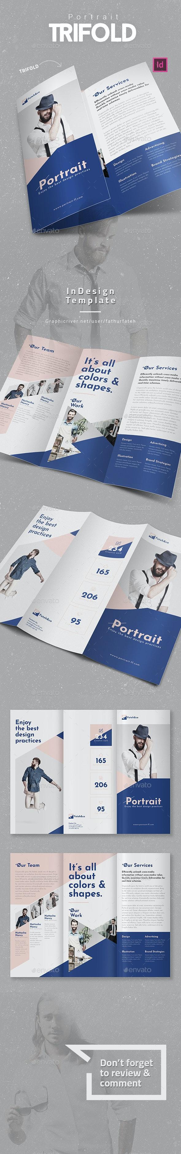 Portrait Trifold - Corporate Brochures