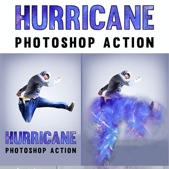 Hurricane Photoshop Action