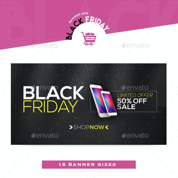 Black Friday Banner Ads