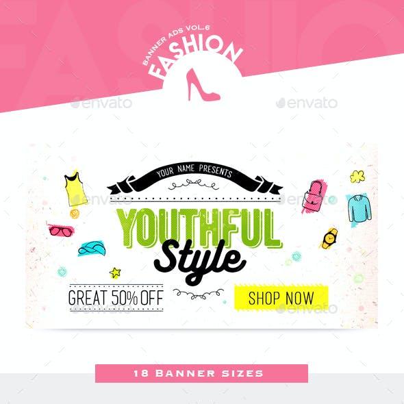 Fashion Banner Ads Vol.6