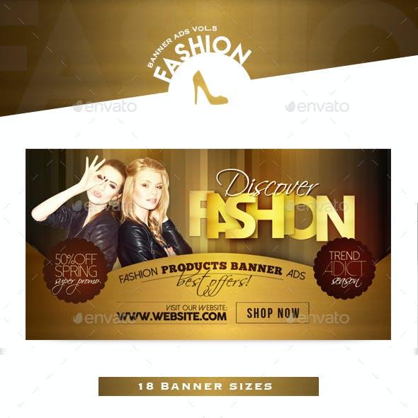 Fashion Banner Ads Vol.5