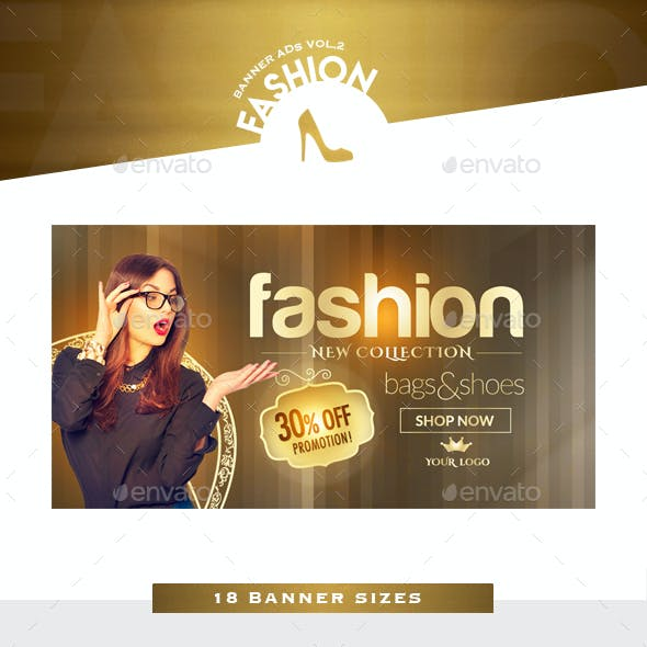Fashion Banner Ads Vol.2