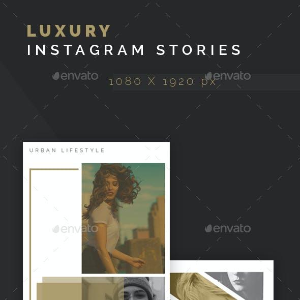 Luxury Insta Stories