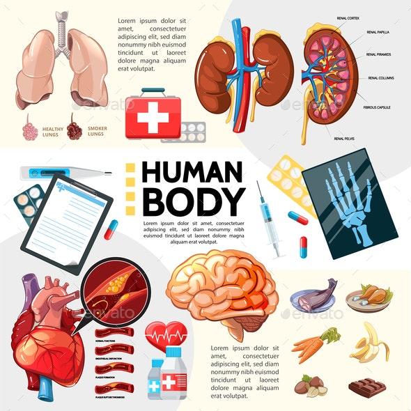 Cartoon Healthcare Template - Miscellaneous Conceptual